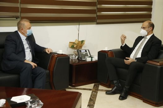 Minister Hasan Discussed with the Newly Appointed Russian Ambassador Ways to Strengthen Health Cooperation